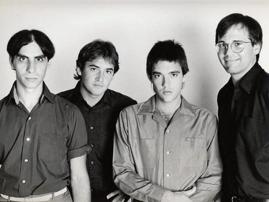The Smithereens: Pat DiNizio, Jim Babjak, Mike Mesaros, Dennis Diken.