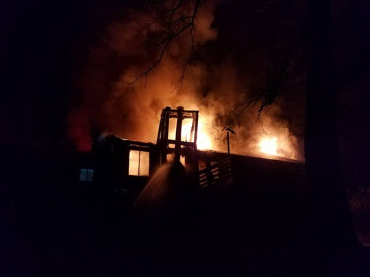 Rural Metro crews responded to a house fire on Ellistown