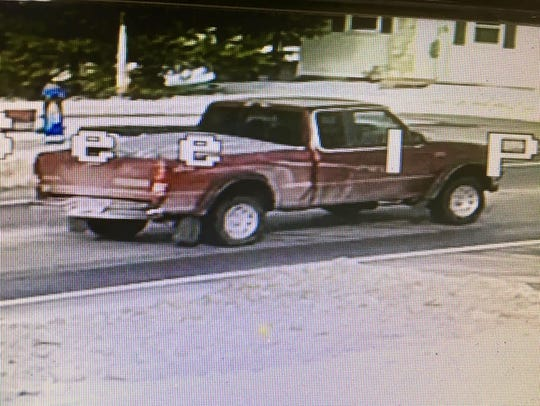 Police say this was the getaway vehicle in a Jan. 8
