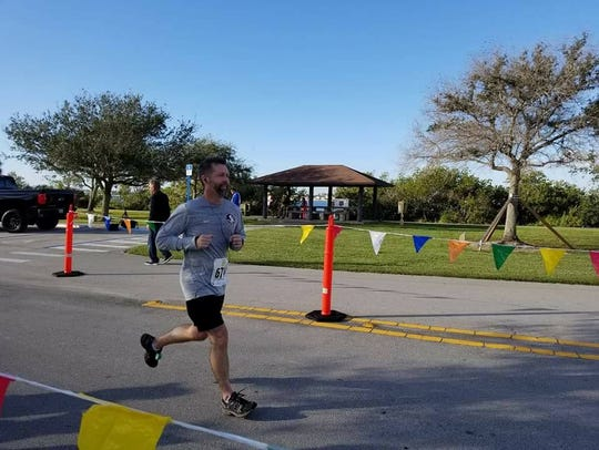 Tykes & Teens CEO Jeff Shearer ran the Beachside Half