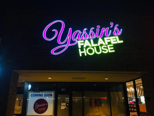 The new Yassin's Falafel House location in West Knoxville will have a ribbon-cutting event at 5 p.m. Friday, Jan. 26, 2018.