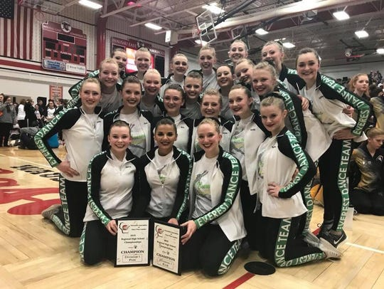 The D.C. Everest dance team qualified for state competition