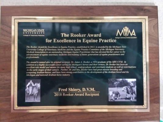 Rooker Award