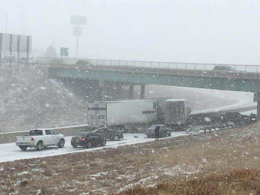 Video Of Car Crash On Snowy Highway  Facebook