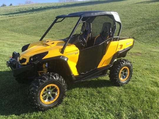 This yellow Can Am Commander was stolen from Off Road