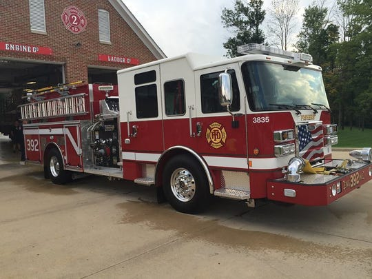 Photo of Fishers fire department headquarters.