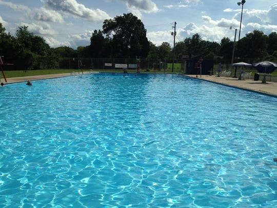 """The """"big pool"""" at Chapman Recreation Center was filled"""