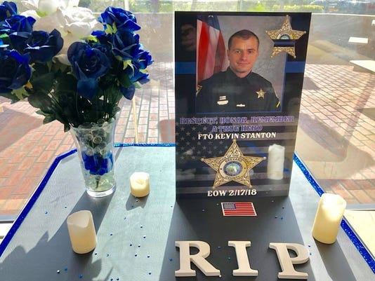 Titusville McDonald's reserves table for fallen deputies