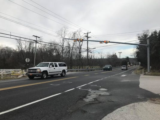 Dover Twp. intersection