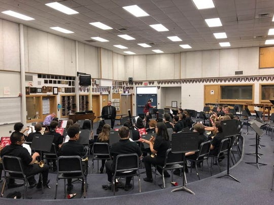 "The band festival performance followed what band leaders called ""wonderful performances"" at state solo and ensemble."