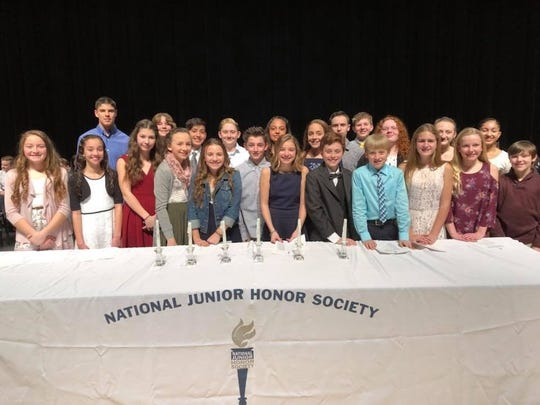 These seventh-grade students were among this year's