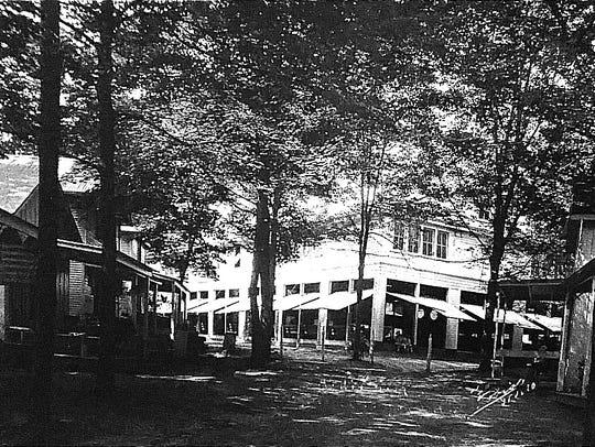 """This Tobias photo taken in 1910 shows the """"new"""" auditorium"""