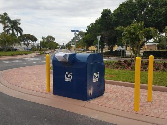 Mailbox burglary