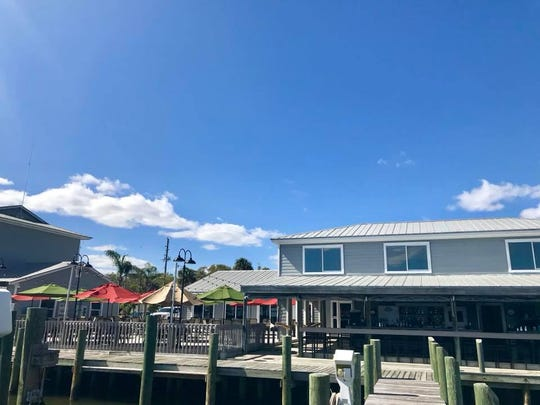 Capt'n Butcher's has views of the Indian River and a marina with deep water boat access.