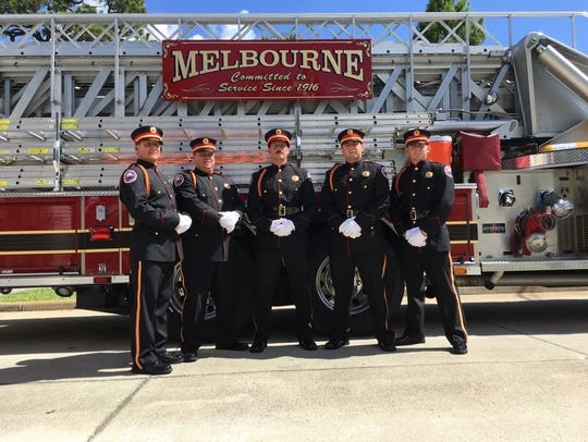 Melbourne Fire Department Honor Guard