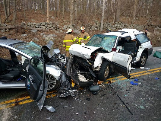 Route 9 crash in Philipstown