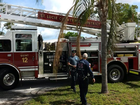 Monday fire damages home in Port St. Lucie