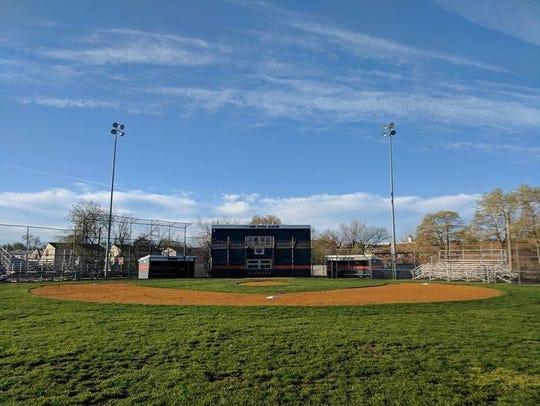 The Little League field in Lodi.