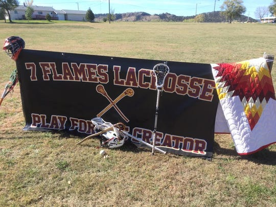 The Rapid City-based 7 Flames lacrosse club will travel to Oklahoma this weekend for Lakota-Oklahoma Medicine Games.