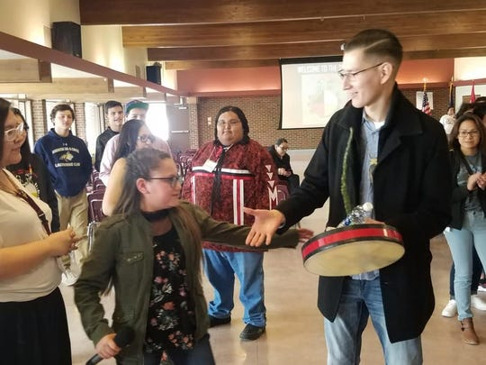 Students from across the Hi-Line gathered in Browning