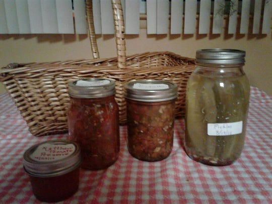 Preserved last year, Teresa Maltz's pantry still has some Matthew tomato preserve, salsa, brushetta and pickles. Methods of preserving sustainability and wasting less in terms of food have become more than trendy and retro actions of the millennial generation. Preserving, composting and fermenting are some of the ways to save and re-purpose food from the refrigerator and garden that hearken back generations.