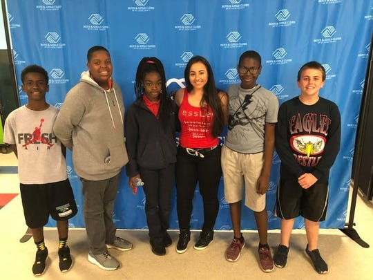 JessLee, a country singer from Stuart who recently appeared on The Voice, brought a message of hope and persistence to members of the Chuck Hill Clubhouse of Boys & Girls Clubs of St. Lucie County.