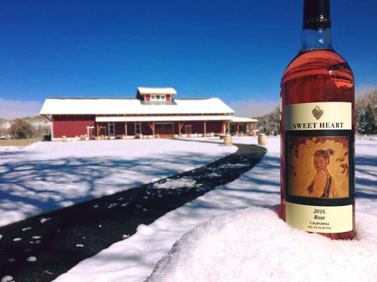 Sweet Heart Winery makes its own products in Loveland.