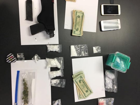 The Harriman Police Department seized approximately
