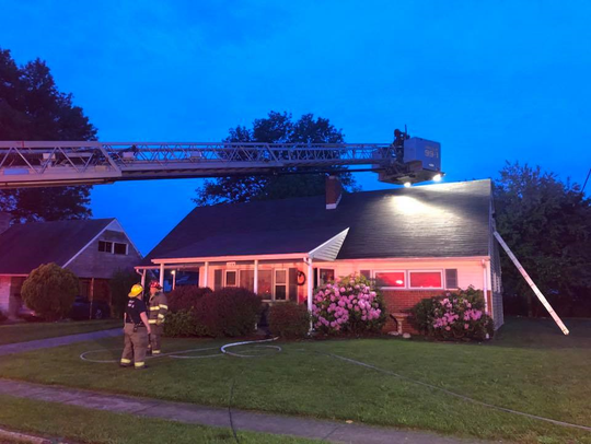Firefighters responded to a house fire in the 1500