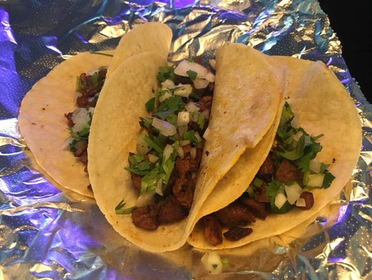Tacos from El Fuego