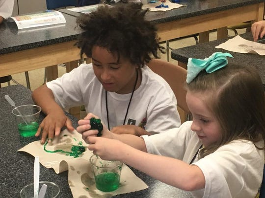 """It's learning alongside other people, very hands on, they're going to get messy,"" said Debbie Sayers, Fountain City STEAM Camp organizer."