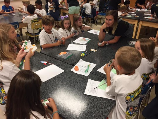 The program is designed to give campers a taste of