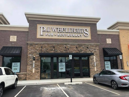 P.J. Whelihan's is opening a new sports bar at the Shoppes at Belmont.