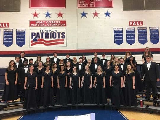 Recent Livonia Franklin graduate Cloey Hirst sang for the high school choir, helping her stay involved following her mother's death.