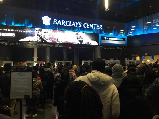 The Barclays Center, the home of the Brooklyn Nets,