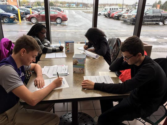 Hope Hall high school students take careers-related classes all four years. The school was awarded $50,000 in 2018 through the Gannett Foundation's A Community Thrives social impact program.