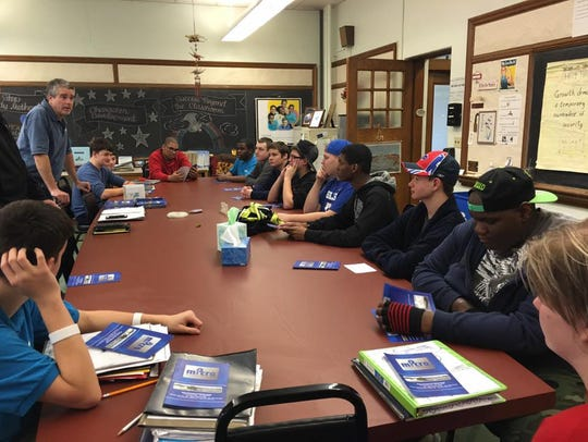 Hope Hall high school students take careers related