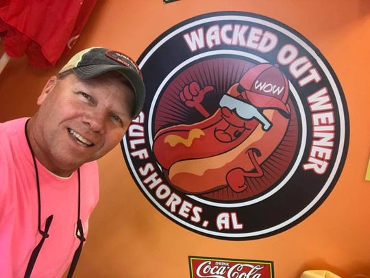 Wacked Out Weiner franchisee owner Kevin Richardson