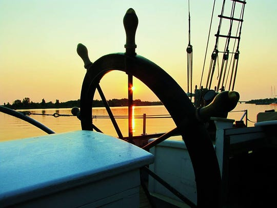 The Madeline, a historical-style schooner built by the Maritime Heritage Alliance, is scheduled to sail into Algonac on July 7, 2018.