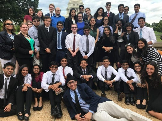 Hightstown High School students involved in bill to