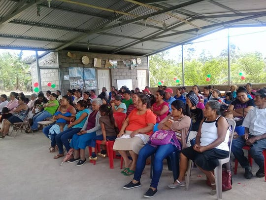 Community leaders continue to meet despite the unrest in Nicaragua. The community committees are an important way that Rainbow Network programs empower the people served.
