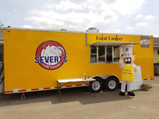 The new Severt's Fine Foods food truck.