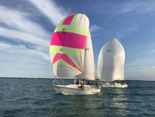 Three adults and five youth — two who've competed in previous Mackinac races — will make up the Sojourner race crew.