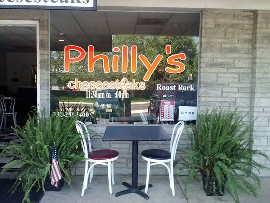 Philly's Famous Cheesesteaks in Atlantic Highlands.