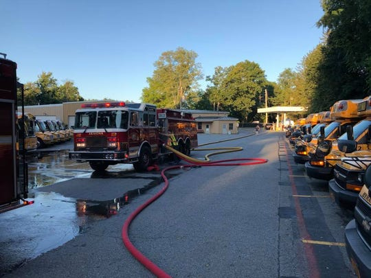Armonk firefighters quickly knocked down the fire and