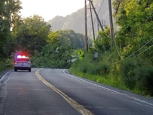 Route 9D closure