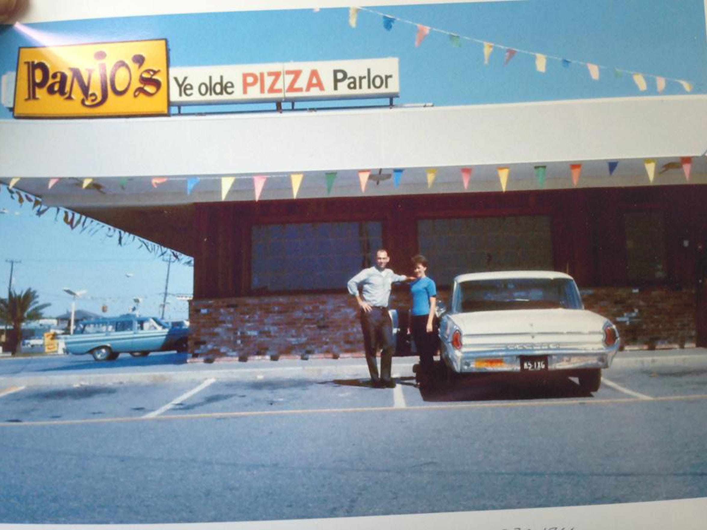 Panjo's Ye Olde Pizza Parlor, now just known as Panjo's