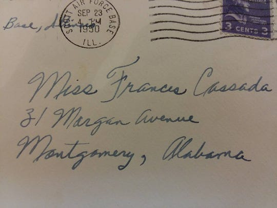 A Georgia woman discovered a trove of letters written in 1950 and 1951, and hopes to track down descendants who might want a piece of their family history. The letters were written from an Air Force airman, Edward Clanton, to a Montgomery woman, Miss Frances Cassada, and several contained photos.