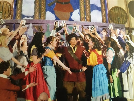 Jamaal Fields-Green played Gaston in Albertus Magnus'