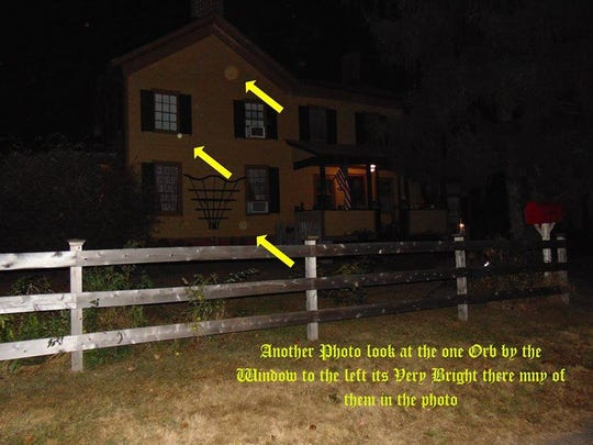 Orbs seen at the Rogers Homestead on Maple Street.